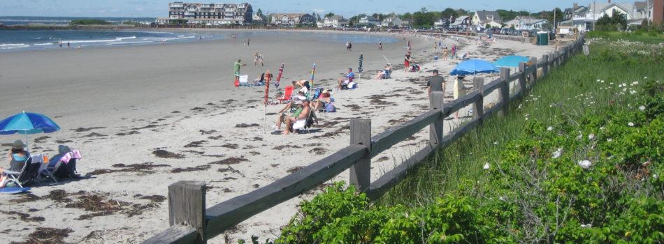20. the beach beyond the gate